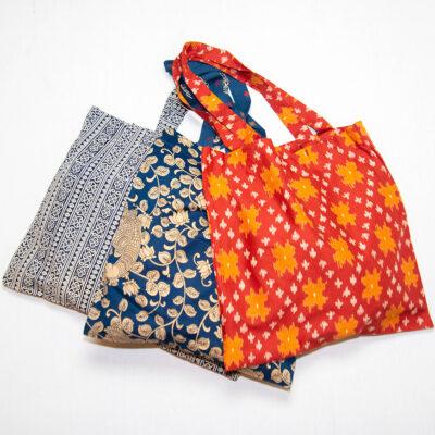3 classic tote bag assortment