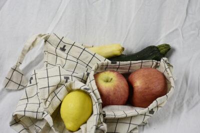 Small drawstring produce bags