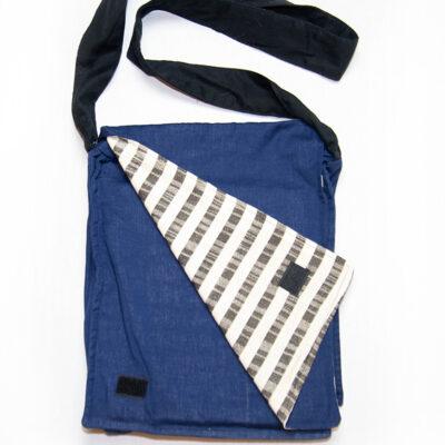 messenger bag blue school bag