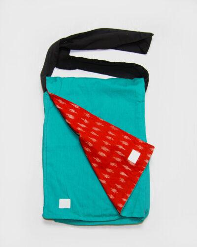 messenger bag green school bag