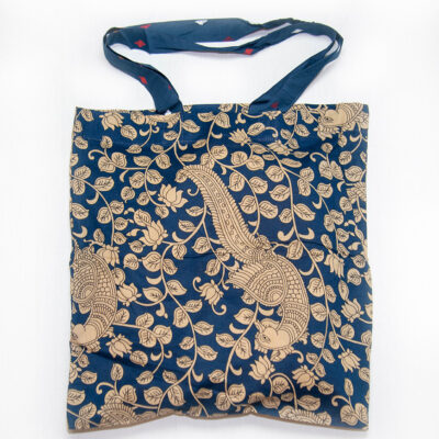 navy classic tote bag