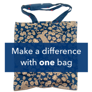 make a difference with one tote bag