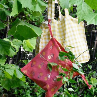 tote bag and produce bag